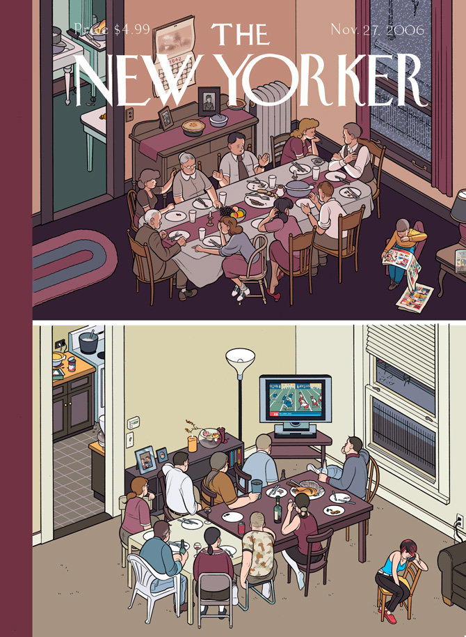 Chris Ware na New Yorker