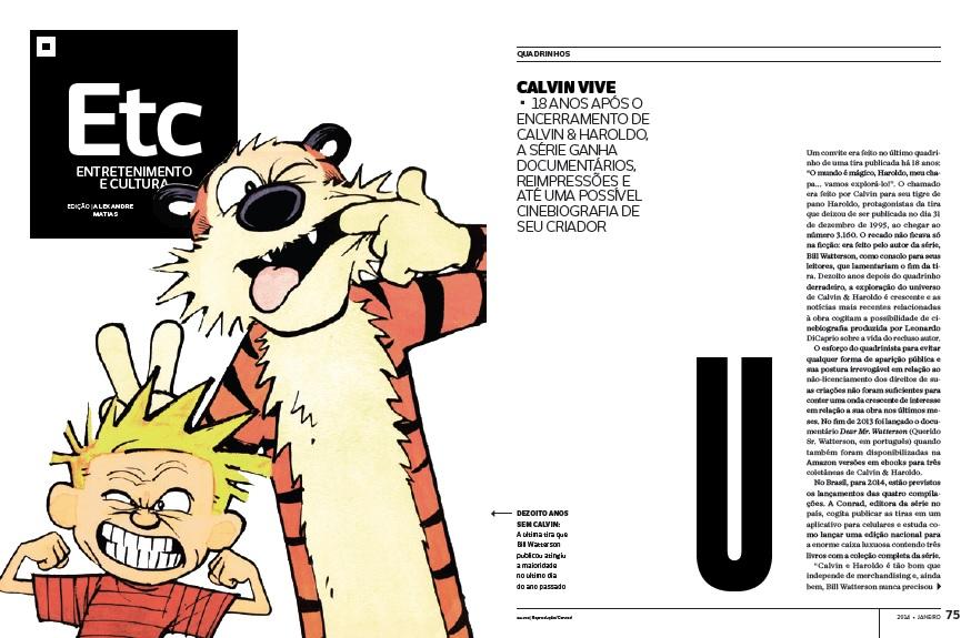 Calvin vive