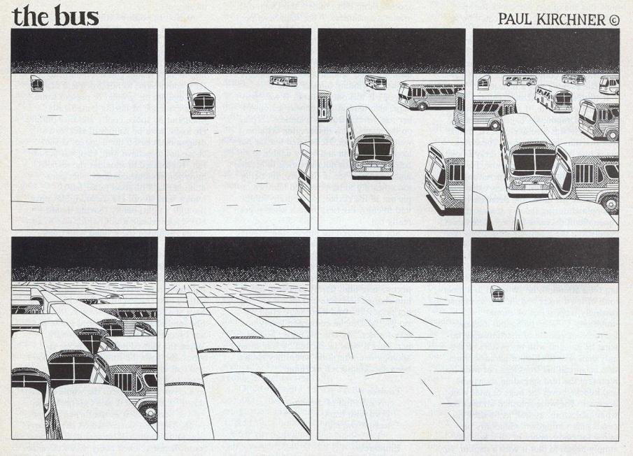 O Ônibus, por Paul Kirchner