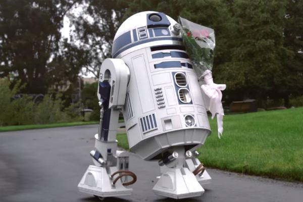 R2-D2 apaixonado