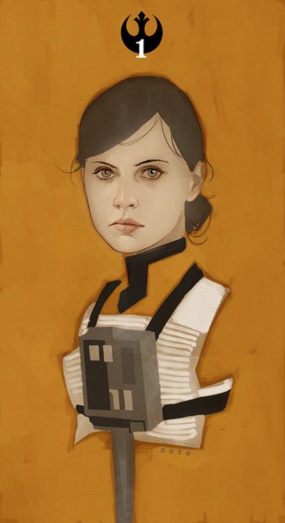Star Wars: Rogue One, por Phil Noto