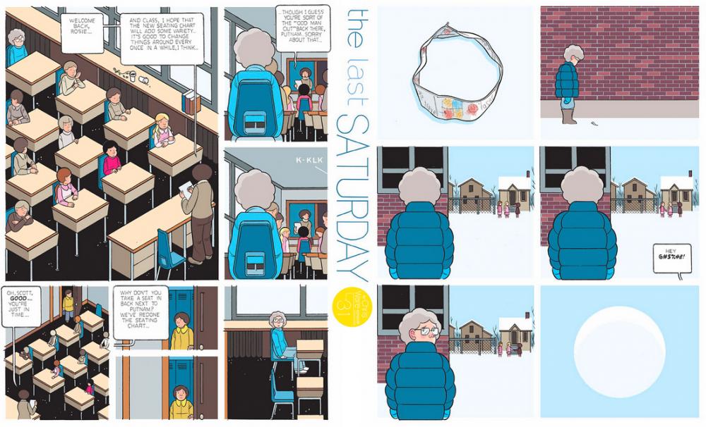 The Last Saturday: a HQ do Chris Ware pro Guardian – Parte #32