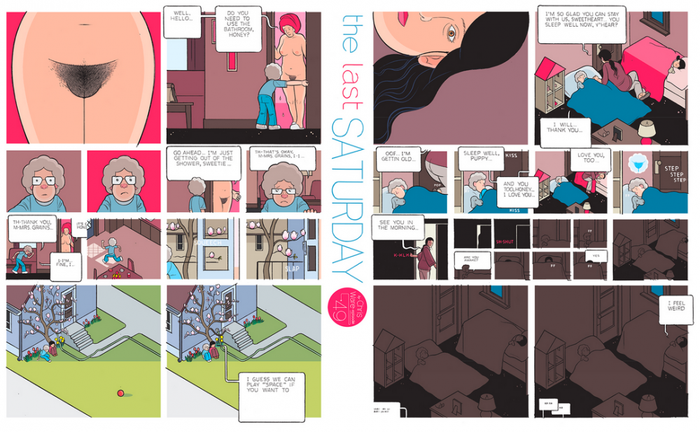 The Last Saturday: a HQ do Chris Ware pro Guardian – Parte #50