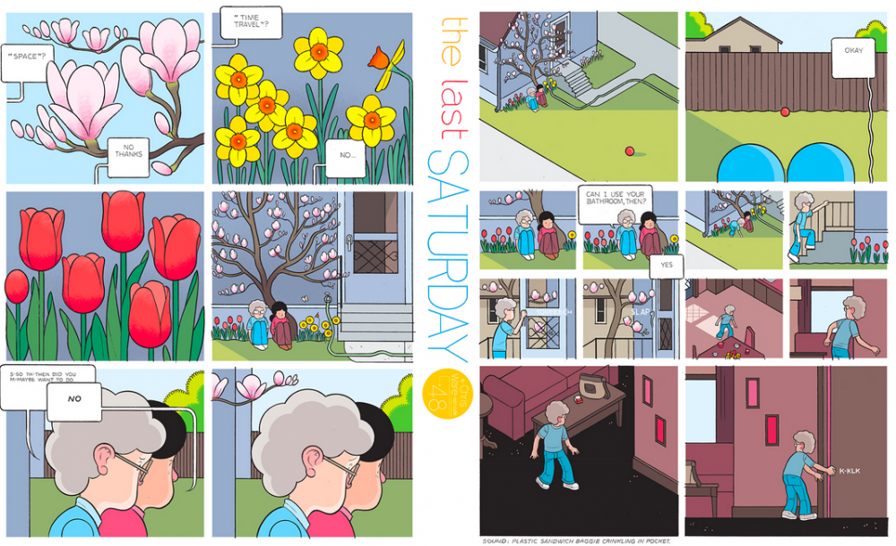 The Last Saturday: a HQ do Chris Ware pro Guardian – Parte #49