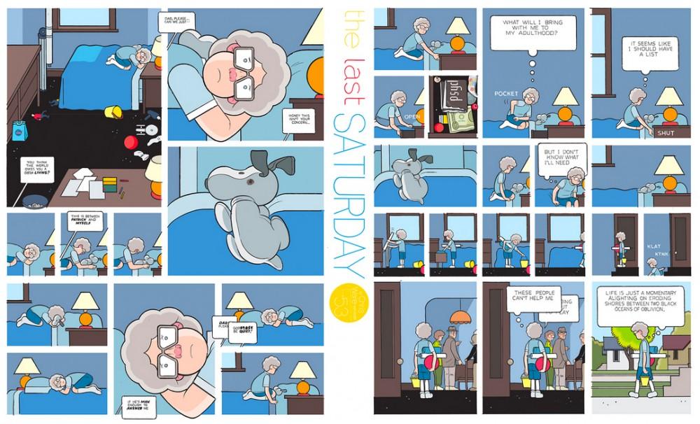 The Last Saturday: a HQ do Chris Ware pro Guardian – Parte #54