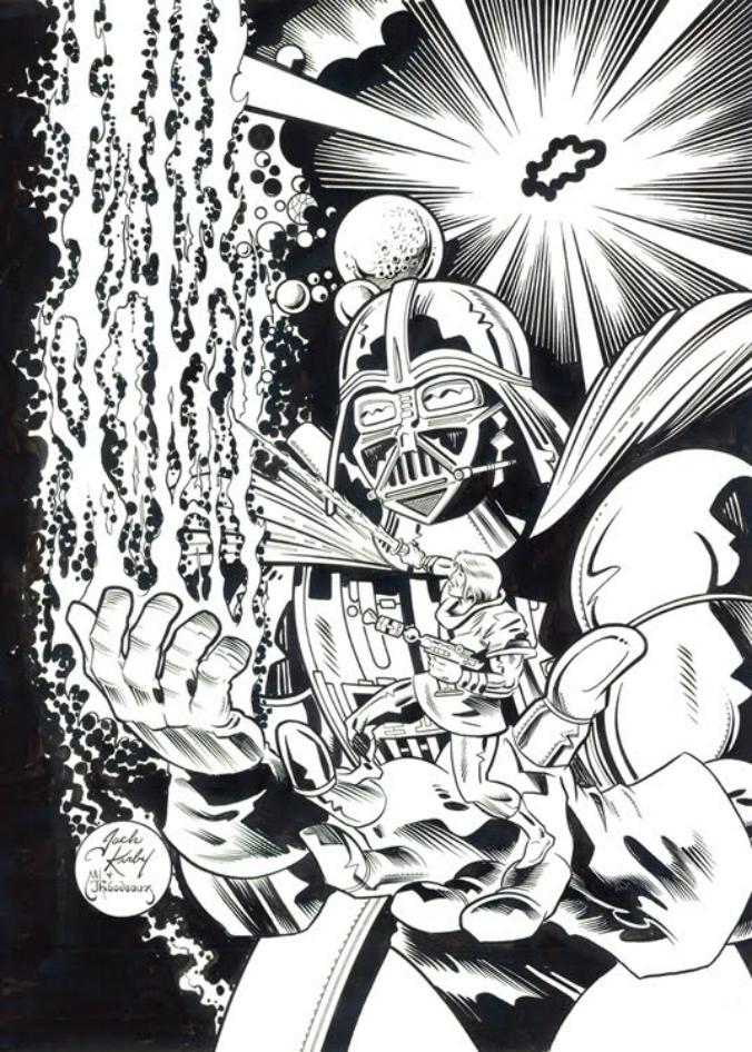 Darth Vader, por Jack Kirby