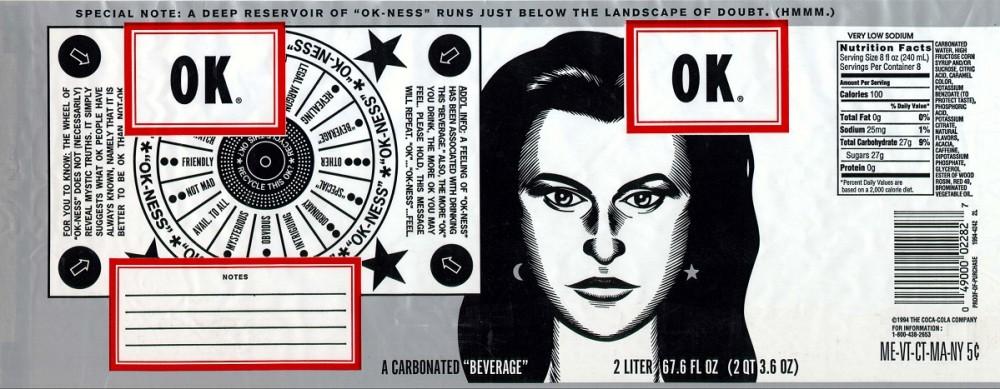 Ok Soda: o refrigerante com artes de Charles Burns e Daniel Clowes