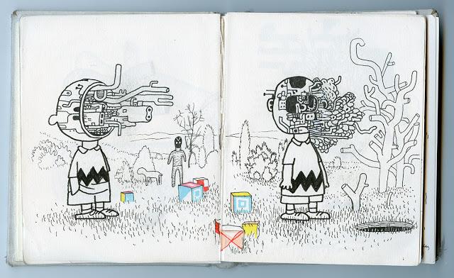 Charlie Brown, por Anders Nilsen