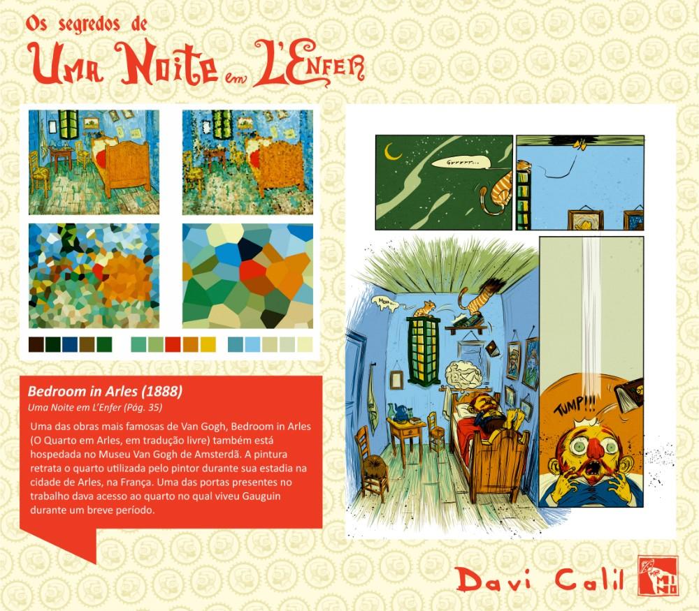 Os segredos das paletas de cores de Davi Calil para o álbum Uma Noite em L'Enfer