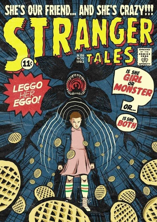 Stranger Things, por Butcher Billy
