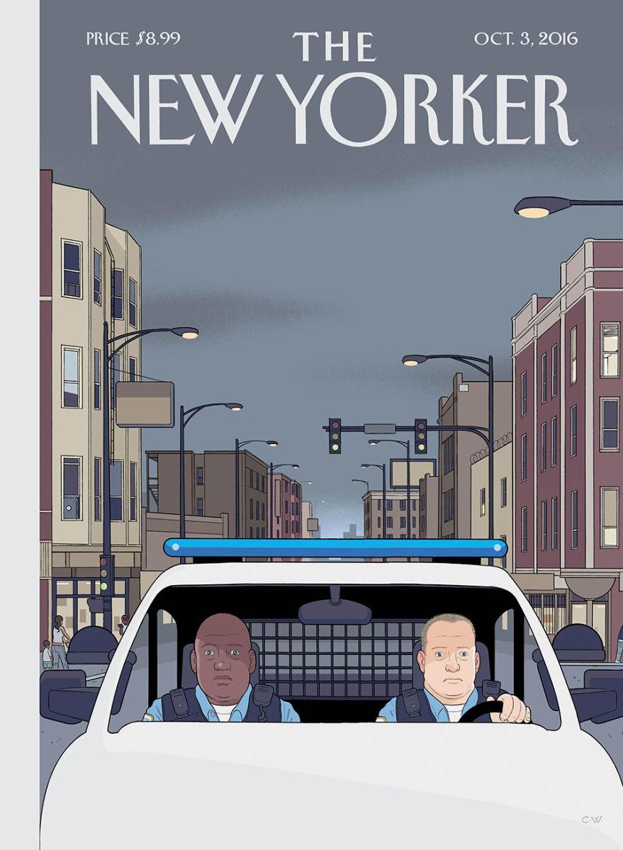 A arte de Chris Ware para a capa da próxima edição da New Yorker