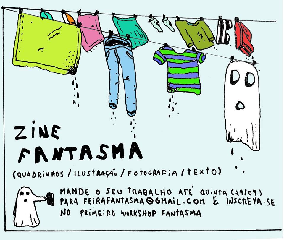 Zine Fantasma: o workshop de zine da 4ª edição da Feira Fantasma