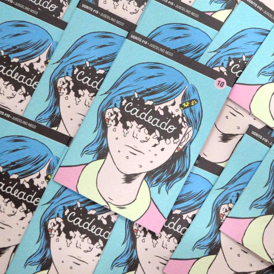 Cadeado: a coleção Ugrito chega à 10ª edição com HQ de Juscelino Neco