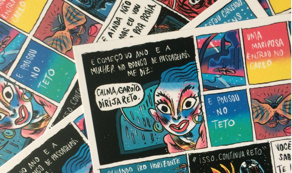 Série Postal: Pedro Cobiaco lança o segundo número da coleção na Ugra, sábado (18/2), a partir das 16h