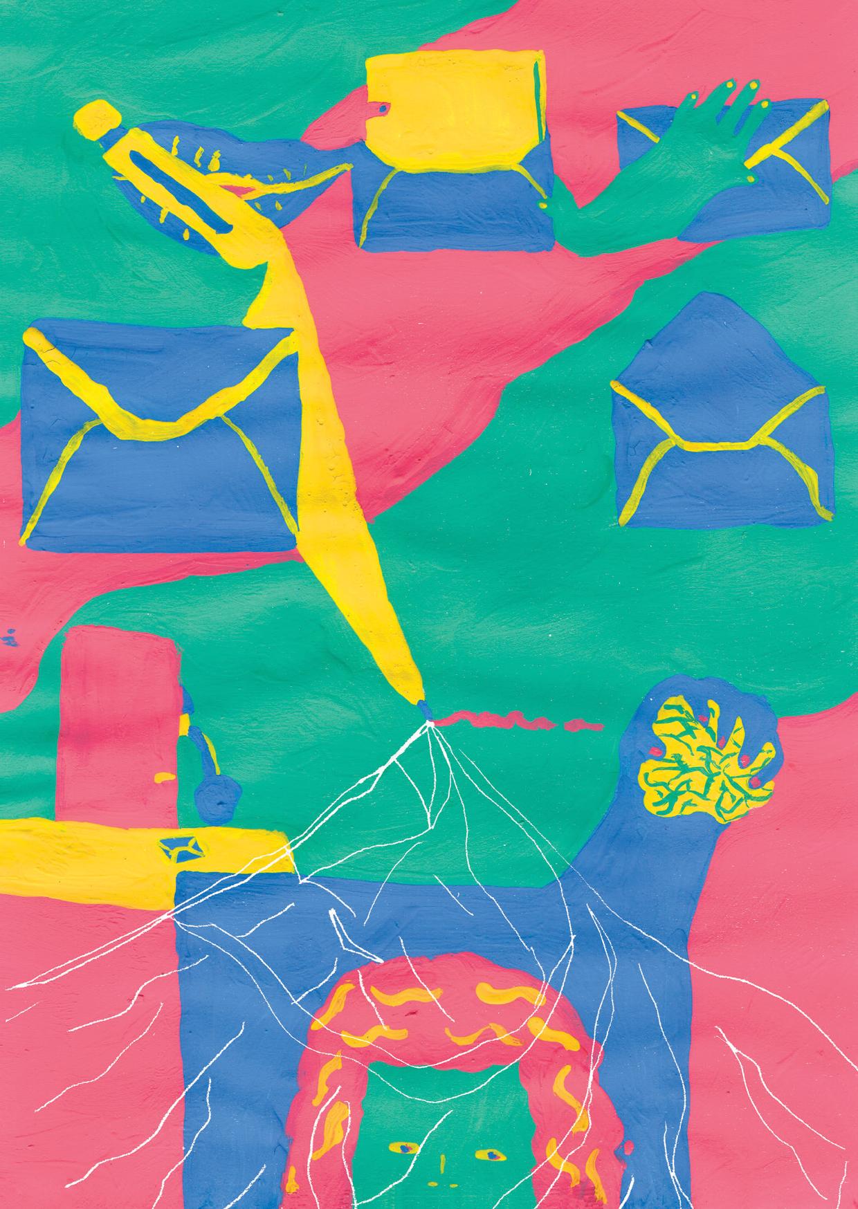 Série Postal: a HQ produzida por Taís Koshino para o nº3 da coleção