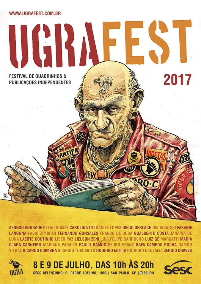 O Ugra Fest está de volta! Dias 8 e 9 de julho no SESC Belenzinho em São Paulo