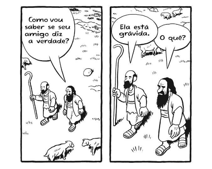 """Papo com Chester Brown, o autor de Maria Chorou aos Pés de Jesus: """"Muito do que Jesus disse soa contraditório"""""""