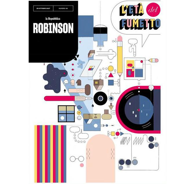 Robinson, por Chris Ware