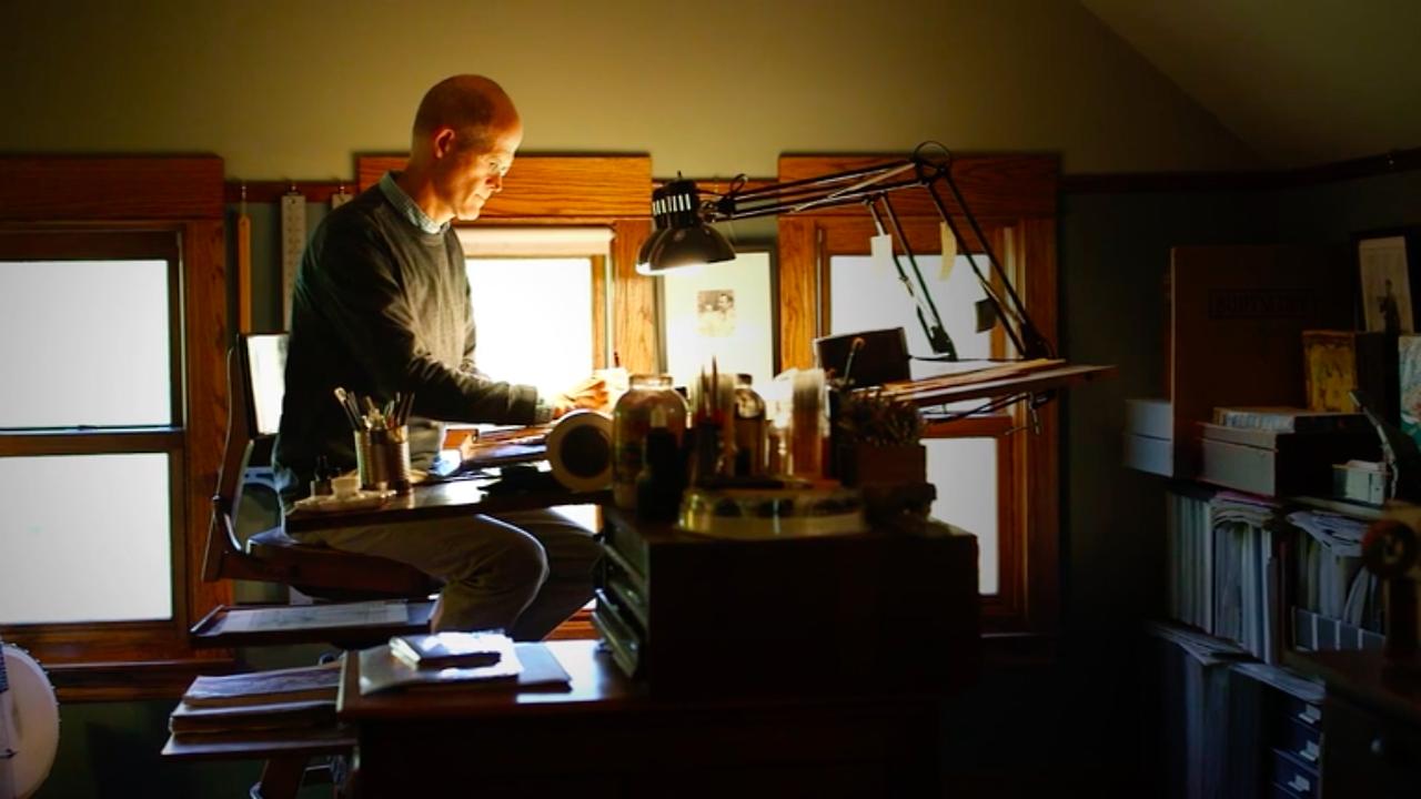 Chris Ware e a produção de Monograph
