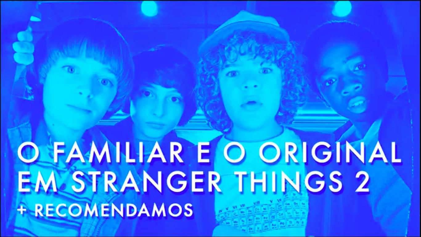 Escafandro Podcast – S02E04: O familiar e o original em Stranger Things 2 + Recomendamos